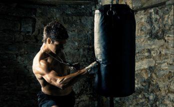 Punching bag.