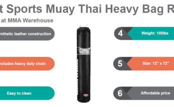 Combat Sports Muay Thai Heavy Bag Review