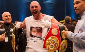 Tyson Fury Return