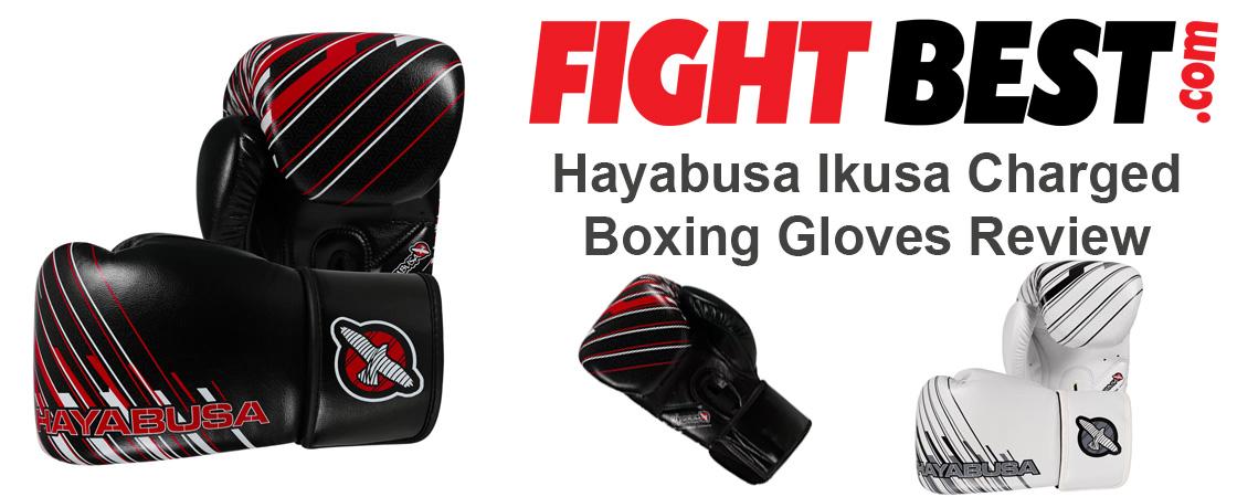 Hayabusa Ikusa Charged Boxing Gloves