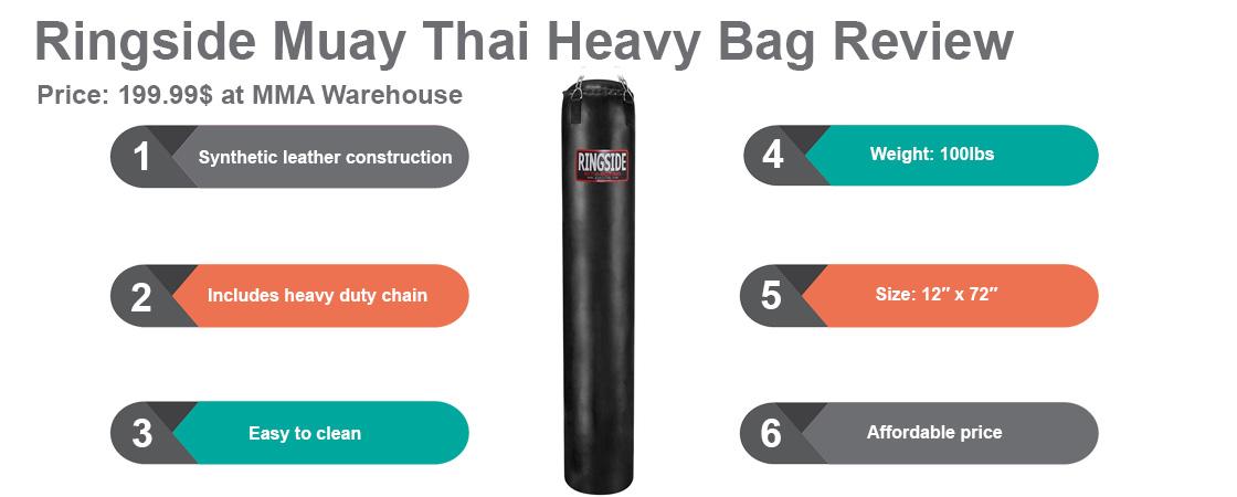 Ringside Muay Thai Heavy Bag Review | FIGHTBEST COM